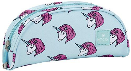 Safta Estuche grande Moos Unicorn Oficial 220x50x90mm