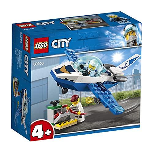 LEGO 60206 City Polizei Flugzeugpatrouille, Flugzeugspielzeug, einfach zu bauende Spielzeuge für Kinder