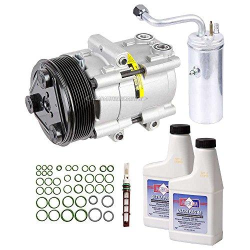 AC Compressor & A/C Kit For Ford F250 F350 F450 F550 F-250 F-350 F-450 F-550 Super Duty - BuyAutoParts 60-80242RK New