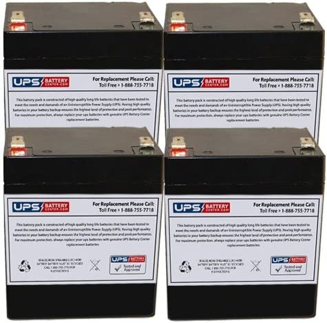 12V 5Ah F2 Replacement Ranking TOP17 Battery Max 71% OFF E 1100i Set Minuteman for