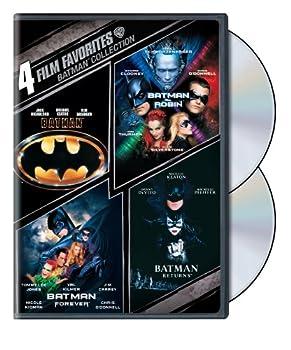 4 Film Favorites  Batman Collection  Batman / Batman Forever / Batman and Robin / Batman Returns
