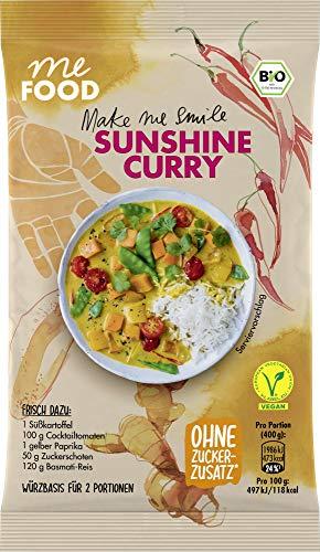 me FOOD Make smile Sunshine Curry, 10er Pack (10 x 26 g)