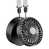 FUNME Handfree Fan Battery Operated Necklace Fan 180° Rotating 3 Speeds Mini...