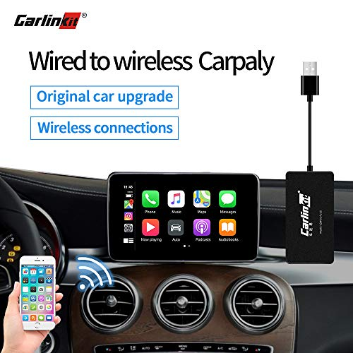 Why Choose Carlinkit Wireless Carplay Activator USB Dongle for Audi/Mercedes Benz/Porsche/Volvo/VW w...