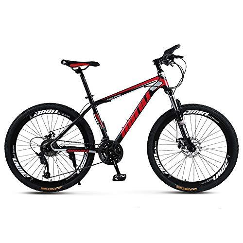Erasior Mountain Bike for Boys 21-Speed Shock Absorption Anti-Slip 26 inch Outdoor Bicycle