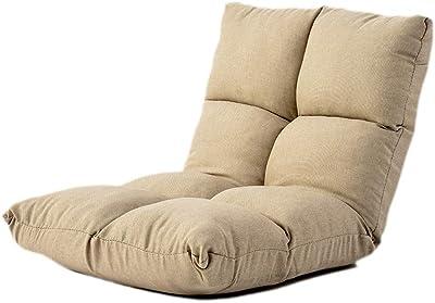 CheungLee座椅子、低反発座椅子、ハンドメイド、モダン、さわやかな素材、高級コットンとリネン、安全で便利な、収納が簡単。 (ベージュ)