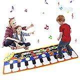 Juguetes Bebe Niño Niña 6-18 Meses, Estera de Baile de Música de Piano para Los Niños Pequeños, Juguetes Regalos Bebes Niña para Niños de 1-6 Años
