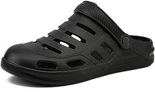 FDSVCSXV Sandalias de Playa para Hombre, Zapatos de jardín Mululas, Agua Antideslizante Zapatillas Transpirables Ducha al ...