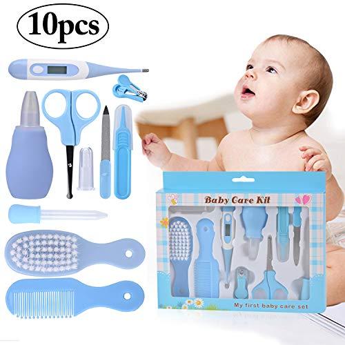 Gr/ün Baby Nagelpflegeset Neugeborene,Baby Nagelknipser Safety,Nasenpinzette Baby,Baby Manik/üre Set Junge,Nagelknipser Neugeborene Set,Baby Nagelknipser Set (6pcs)
