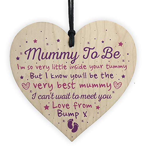 RED OCEAN Mummy To Be Bump Gifts Decorations Baby Shower Mum Friendship Gift New Baby Present