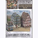 Schreiber-Bogen Kartonmodellbau, Wir bauen eine Altstadt Set 8 -
