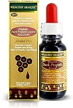 Wealthy Health Organic Dark Propolis Liquid Maxi 600 Alcohol Free