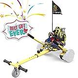 COLORWAY Aiento Kart para Hoverboards de Equilibrio Autom¨¢Tico Compatible con Scooter Electrico 6,5, 8 y 10 Pulgadas (Hip)