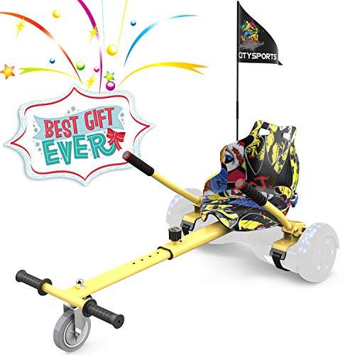 COLORWAY Aiento Kart para Hoverboards de Equilibrio Autom¨¢Tico Compatible con Scooter Electrico...