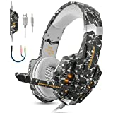 BGOOO Stereo Gaming Headset for PS4, PC, Xbox...