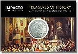 IMPACTO COLECCIONABLES Monedas Antiguas - España 5 Pesetas de Plata 1877/81. Alfonso XII sin Barba