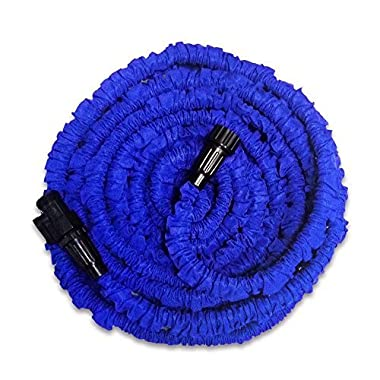 KLAREN Garden Hose, Expandable Garden Hose, 51ft Expanding Garden Hose Lightweight Durable Heavy Duty Flexible Pressure Washer Water Hose for Car Wash Cleaning Watering Lawn Garden Plants
