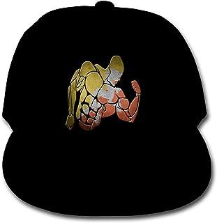 Bonshion Sombreros Ajustables de la Gorra de béisbol del Color sólido de la Bandera de Bhután para el Negro de Las Muchachas del Muchacho