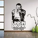 tong99 Rock Stil Wohnkultur Linkin Park Vinyl Wandaufkleber