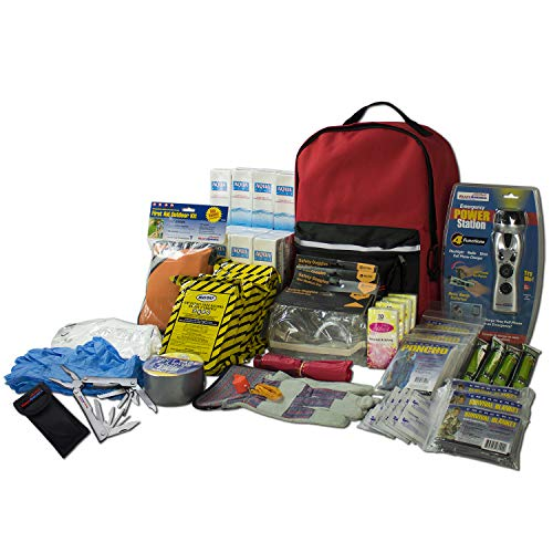 Product Image 1: Ready America 70385 Deluxe Emergency Kit 4 Person Backpack