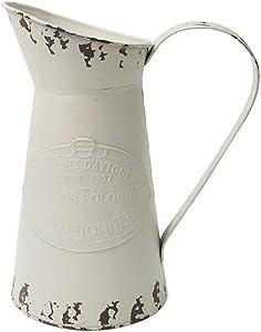 APSOONSELL vintage metal Art shabby vaso brocca per home decor