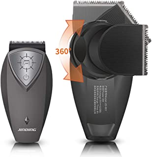 JinDing Hair Clippers Electric Hair Trimmers Replaceable Blade Heads Rechargeable Self-Cut Hair cutting for Men Kids and Babies