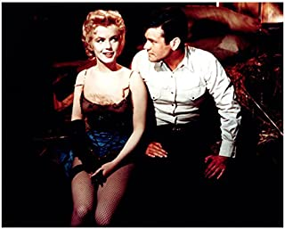 Bus Stop Marilyn Monroe Smirking In Dance Costume With Don Murray 8 x 10 Photo