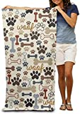 yuhuandadi Boxer Dog Dad Father Bath Towels Beach Towels Pool Towels Adults Soft Absorbent 31x51 Inches