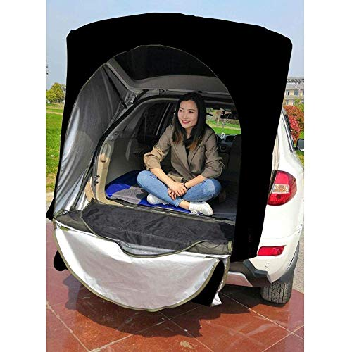 Car Rear Roof Outdoor Equipment Camping Tent Canopy Tail Ledger Picnic Awning For Bmw X5 Only For Suv
