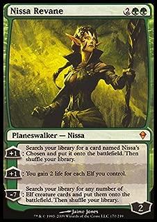 Magic: the Gathering - Nissa Revane (170) - Zendikar