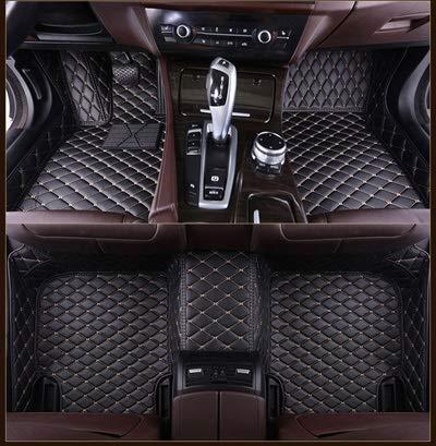 SXLML Car floor mat Floor Mats Car Floor Mats Fit For Volkswagen Vw Passat Polo Golf Tiguan Jetta Touran Touareg Bora Sagitar Magotan Teramont Custom Styling 3D Carpet Car Mat