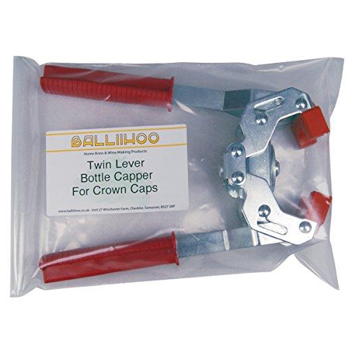 Balliihoo® Twin Lever Bottle Capper for Crown Caps