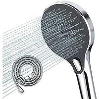 WaterSong 5 Inch Wide Handheld High Pressure Shower Head