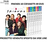 FRIENDS - Serie Completa da 1 a 10 Cofanetti Singoli (49 Dischi) IN...