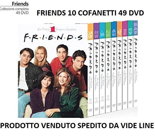 FRIENDS - Serie Completa da 1 a 10 Cofanetti Singoli (49 Dischi) IN ITALIANO