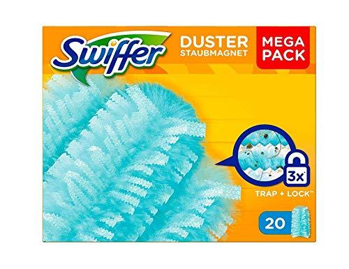 Swiffer Staubmagnet Tücher Mega Nachfüllpack 1er Pack 1 X 20 Stück
