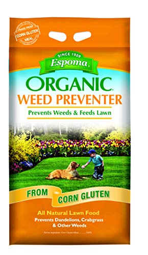 Espoma Weed Preventer Plus Lawn Food, Natural Lawn...