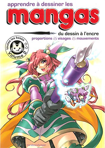 Apprendre à dessiner les mangas - Vol 2