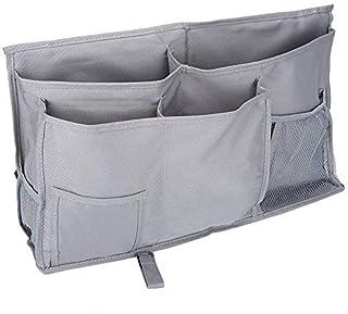 Caddy de chevet, 8 poches Durable Oxford Multifonctionnel Chevet Rangement Sac Suspendu Organisateur De Stockage pour Tête...