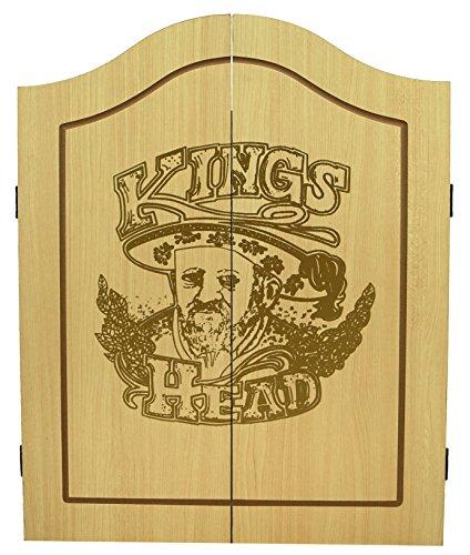 Best Sporting Dart-Kabinett Kings Head, Dartboard & Pfeile - 2