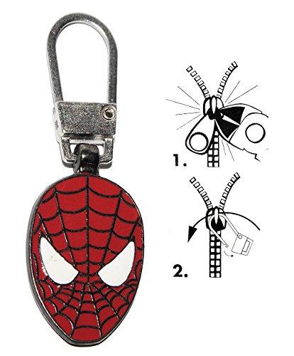 alles-meine.de GmbH Zipperanhänger -  Spider - Man  - Anhänger für Reißverschluss - Zipper - für Kinder / Mädchen & Jungen - Reißverschlußanhänger - Jacken Reißverschlüsse - Sp..