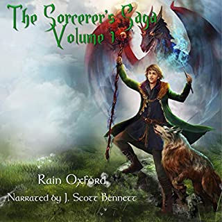 The Sorcerer's Saga: Books 1-3 audiobook cover art