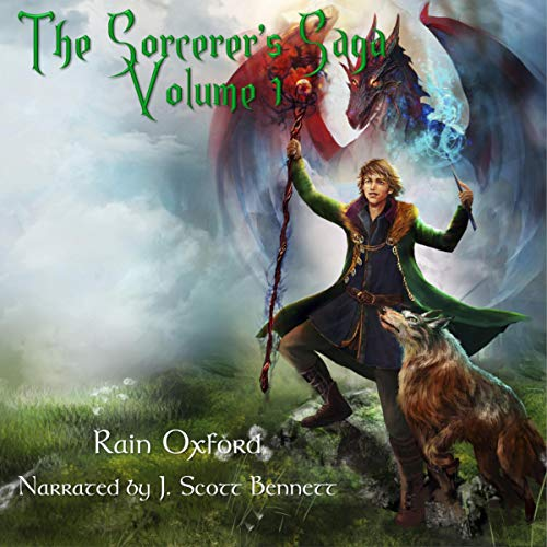 Couverture de The Sorcerer's Saga: Books 1-3