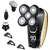 Electric Shavers Razor for Men Teamyo Head Shavers for Bald Men with LED