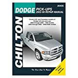 Chilton Repair Manual for Dodge Pick-ups, 2002-08