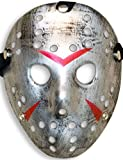 HomeTools.eu® - Halloween Maske, Kostüm Horror Hockey Myers Gesichts-Maske, Fasching, Karneval,...