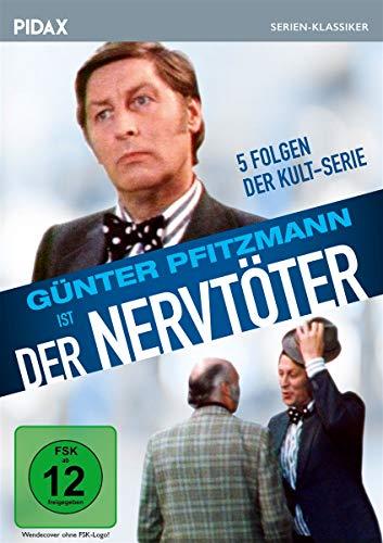 Der Nervtöter / 5 Folgen der Kult-Serie mit Günter Pfitzmann (Pidax Serien-Klassiker)