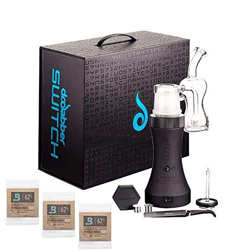 Dr Dabber SWITCH Induction Heating Air Shifter   INCLUDES: 3x Boveda (62% 8 Gram) Over-wrapped Humidity Packs