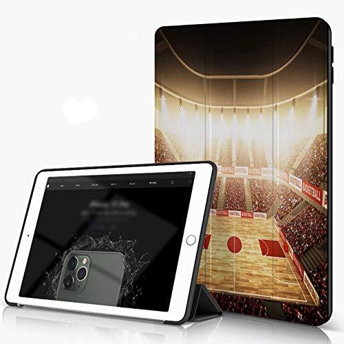 She Charm Funda para iPad 9.7 para iPad Pro 9.7 Pulgadas 2016,Baloncesto Arena,Incluye Soporte magnético y Funda para Dormir/Despertar