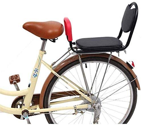 Asiento posterior de la bicicleta asiento de seguridad for niños del amortiguador de bicicletas de montaña del pie del bebé Conjunto Carrier Safety, asiento posterior de la bicicleta infantil apoyabra